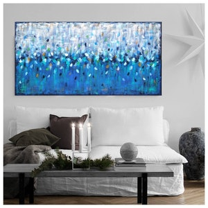 (CreativeWork) Water Dreaming by Belinda Nadwie. oil-painting. Shop online at Bluethumb.