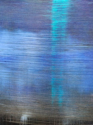 (CreativeWork) The Deep by Tom Roso. Acrylic Paint. Shop online at Bluethumb.