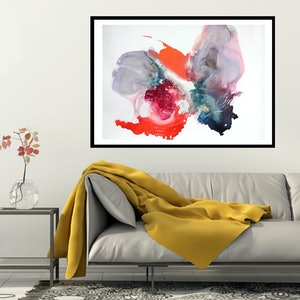 (CreativeWork) Chrysalis II by Michelle Drougas. mixed-media. Shop online at Bluethumb.