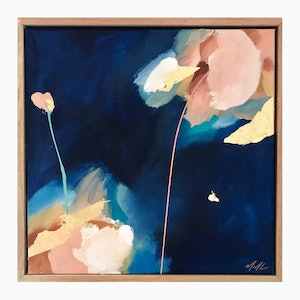 (CreativeWork) Raining On Tuesday by Marnie McKnight. arcylic-painting. Shop online at Bluethumb.