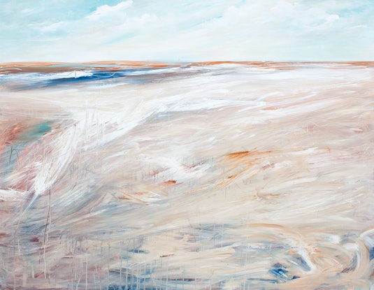 (CreativeWork) Wandering Tide by Tania Chanter. Acrylic Paint. Shop online at Bluethumb.