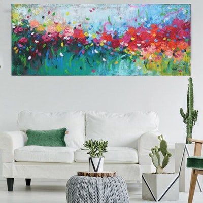 (CreativeWork) My love for you by Belinda Nadwie. oil-painting. Shop online at Bluethumb.