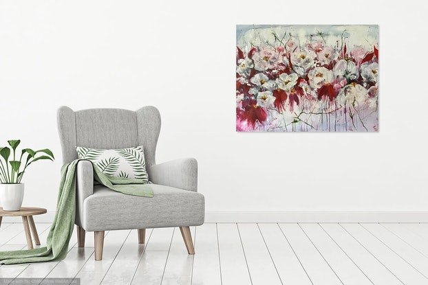 (CreativeWork) 'A Rather Large Amount Of Gratitude'  by Louise Croese. #<Filter:0x00007f2dba50ecb0>. Shop online at Bluethumb.