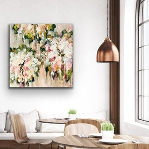 (CreativeWork) Apricot & Pistachio Gelato by Lisa Wisse-Robinson. mixed-media. Shop online at Bluethumb.
