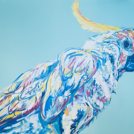 (CreativeWork) Airlie, Signed Limited Edition Print by Sally Perrett. Acrylic. Shop online at Bluethumb.