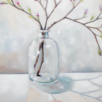 (CreativeWork) Spring by Sam Suttie. oil-painting. Shop online at Bluethumb.