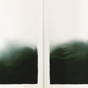 (CreativeWork) Winters Green I & II by Casey Freeman. other-media. Shop online at Bluethumb.