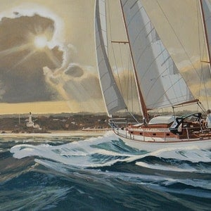 (CreativeWork) Sailing The Rip by Lance Ross. #<Filter:0x000055be246468c8>. Shop online at Bluethumb.