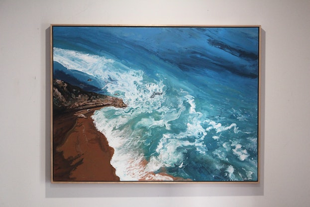 (CreativeWork) Ocean Lace at Bells by Nic Everist. #<Filter:0x00007f0bd07b2798>. Shop online at Bluethumb.