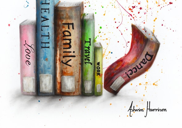 (CreativeWork) The Growing Pages by Ashvin Harrison. Acrylic Paint. Shop online at Bluethumb.