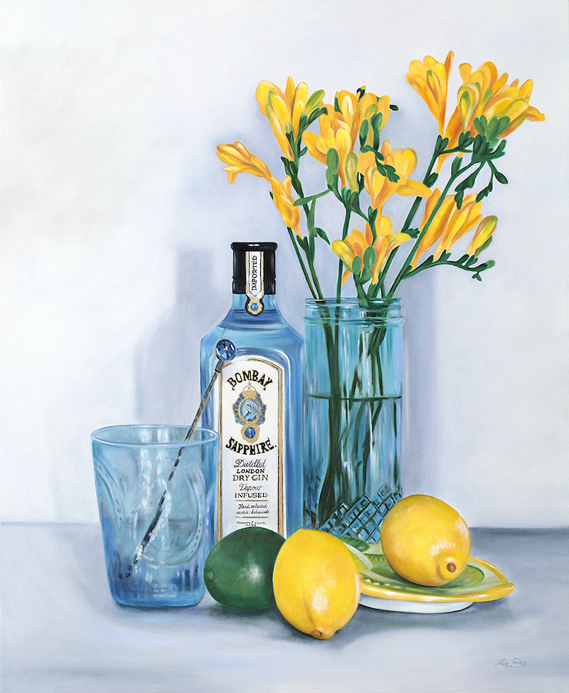 (CreativeWork) Thats The Spirit - Original Oil Painting by Mia Laing. oil-painting. Shop online at Bluethumb.