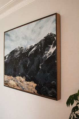 (CreativeWork) Snow Capped by Nic Everist. #<Filter:0x0000562f85e48e90>. Shop online at Bluethumb.