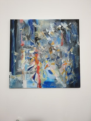 (CreativeWork) Untitled by Tim Nash. Oil Paint. Shop online at Bluethumb.