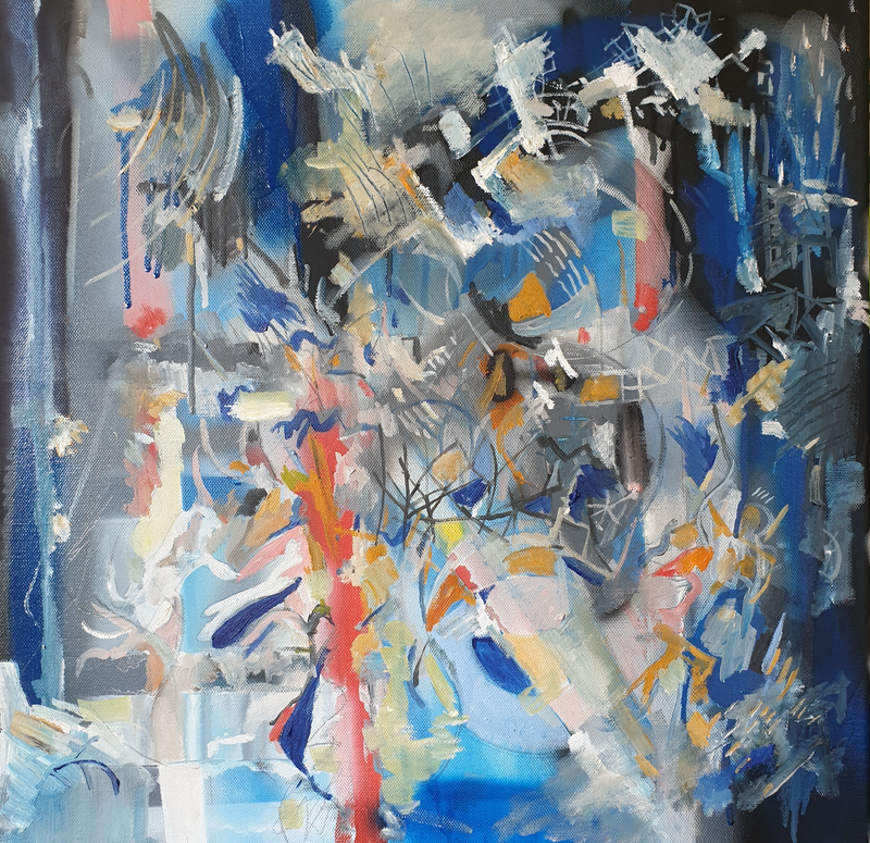 (CreativeWork) Untitled by Tim Nash. oil-painting. Shop online at Bluethumb.