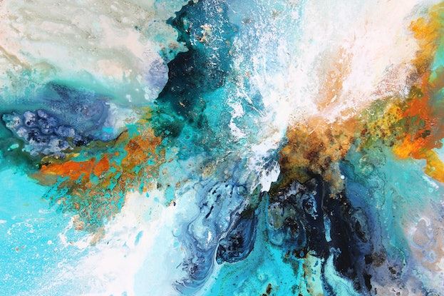 (CreativeWork) Colour Pop by Sue Dyde. Mixed Media. Shop online at Bluethumb.