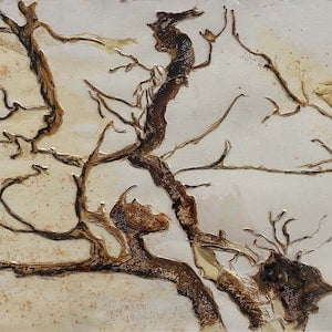 (CreativeWork) Bush critters by Helena Cornelius. mixed-media. Shop online at Bluethumb.