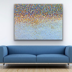 (CreativeWork) Opal Petals  by Theo Papathomas. acrylic-painting. Shop online at Bluethumb.