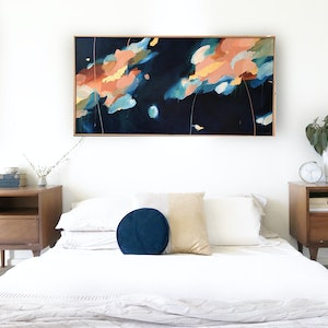 (CreativeWork) Follow The Sun by Marnie McKnight. acrylic-painting. Shop online at Bluethumb.