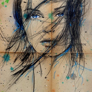 (CreativeWork) APRIL MARCH by loui jover. drawing. Shop online at Bluethumb.