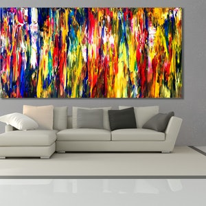 (CreativeWork) Semantic Interlude by Estelle Asmodelle. acrylic-painting. Shop online at Bluethumb.