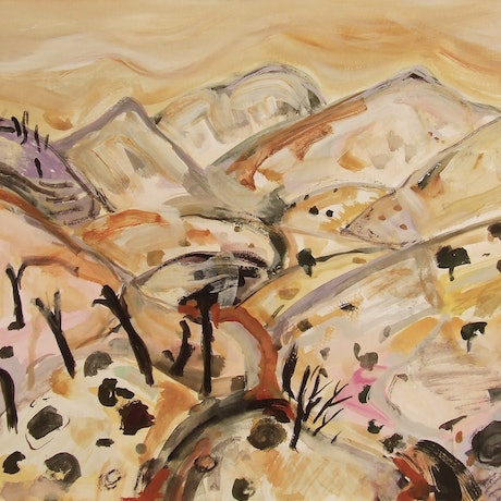 (CreativeWork) Along the track, Vulkathunha-Gammon Ranges by Suzannah Jones. Other Media. Shop online at Bluethumb.