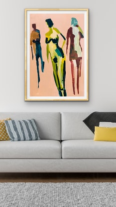 (CreativeWork) Embodied by Sharon Monagle. Acrylic Paint. Shop online at Bluethumb.