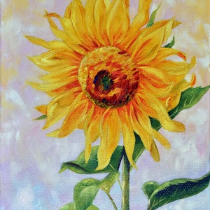 (CreativeWork) I See Sunshine by Luna Vermeulen. oil-painting. Shop online at Bluethumb.
