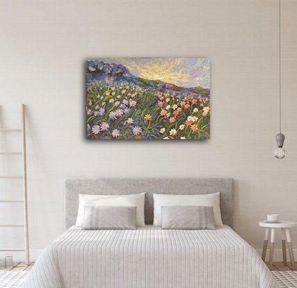 (CreativeWork) Wildflower Australia  by Tooky Sriwong-rach. Acrylic Paint. Shop online at Bluethumb.
