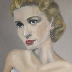 (CreativeWork) Portrait of a Lady  by Kathryn Price. drawing. Shop online at Bluethumb.