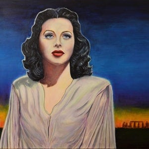 (CreativeWork) Stonehenge Queen by Sergio  Paul Ianniello. Acrylic Paint. Shop online at Bluethumb.