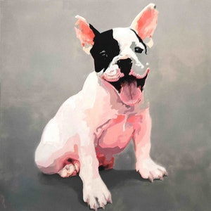 (CreativeWork) Puppy in Pink Ed. 2 of 50 by Karen Bloomfield. #<Filter:0x00007f5a0a66dee0>. Shop online at Bluethumb.
