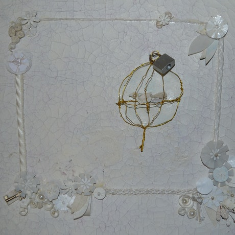 (CreativeWork) White Wash by Melanie Duncan. Mixed Media. Shop online at Bluethumb.