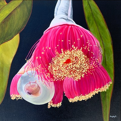 (CreativeWork) The Little Things by Hayley Kruger. acrylic-painting. Shop online at Bluethumb.
