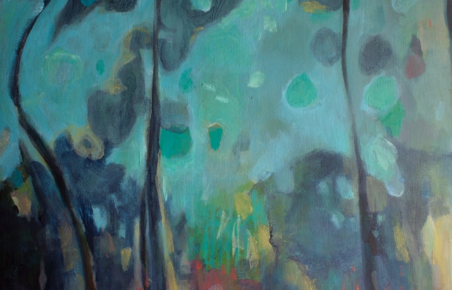 (CreativeWork) Run to the hills by Jennifer Prior. Acrylic Paint. Shop online at Bluethumb.