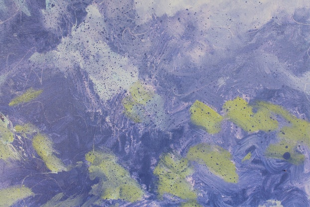 (CreativeWork) Jacaranda Hue (PRICE REDUCED) by Heidi Savage. Oil Paint. Shop online at Bluethumb.