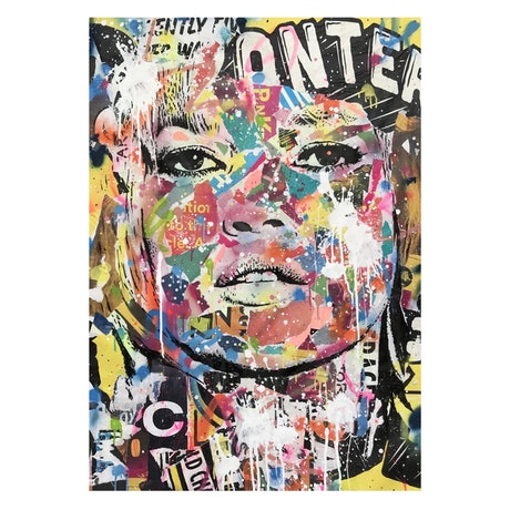 (CreativeWork) Street Icon 174 by Cold Ghost. Mixed Media. Shop online at Bluethumb.