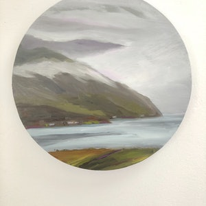 (CreativeWork) Clouds Covering  The Highlands  by Gail McKenzie. #<Filter:0x00005633270f9500>. Shop online at Bluethumb.