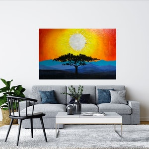 (CreativeWork) Almost over by Tom Roso. acrylic-painting. Shop online at Bluethumb.