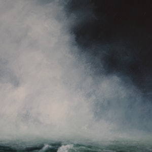 (CreativeWork) Sea Storm by GEOFF WINCKLE. acrylic-painting. Shop online at Bluethumb.