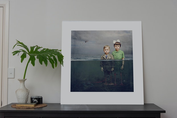 (CreativeWork) Dancing with Costica - Underneath Ed. 11 of 20 by Jane Long. Photograph. Shop online at Bluethumb.