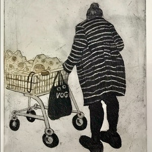 (CreativeWork) Kmart Shopper. Ed. 3 of 20 by Dianne Colk. #<Filter:0x000055c8be2a77e0>. Shop online at Bluethumb.