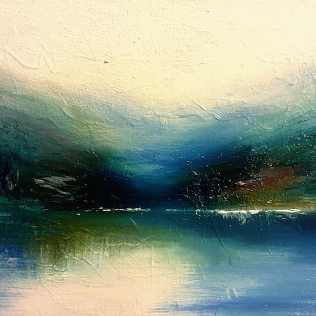 (CreativeWork) Subtlety by Alice Howell. Oil Paint. Shop online at Bluethumb.
