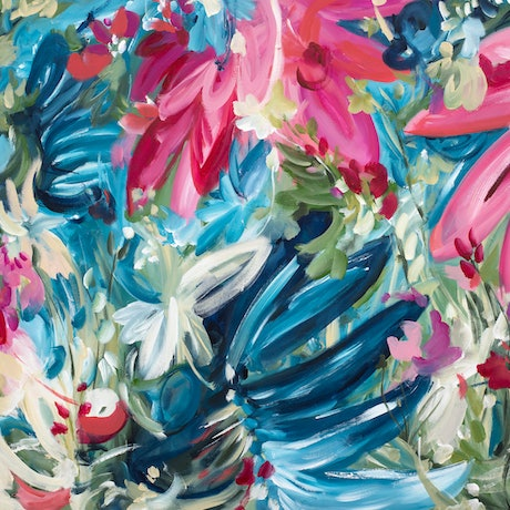(CreativeWork) Summer Holiday by Amber Gittins. Acrylic Paint. Shop online at Bluethumb.