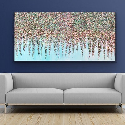 (CreativeWork) Magical Moments by Theo Papathomas. acrylic-painting. Shop online at Bluethumb.