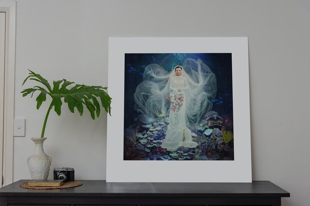 (CreativeWork) Dancing with Costica - Neptune's Bride Ed. 1 of 20 by Jane Long. Photograph. Shop online at Bluethumb.