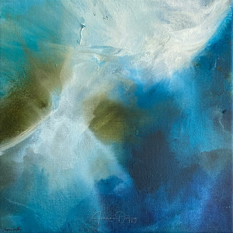 (CreativeWork) Tidal I by Joanne Duffy. Oil Paint. Shop online at Bluethumb.