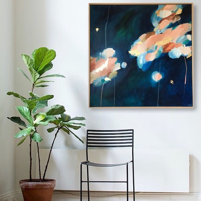 (CreativeWork) Coral In Bloom by Marnie McKnight. Acrylic. Shop online at Bluethumb.