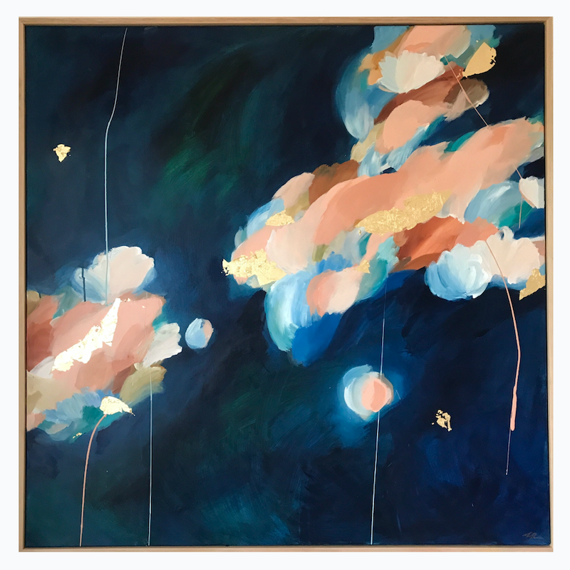 (CreativeWork) Coral In Bloom by Marnie McKnight. Acrylic Paint. Shop online at Bluethumb.