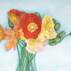 (CreativeWork) Lasting Memory by Mia Laing. oil-painting. Shop online at Bluethumb.
