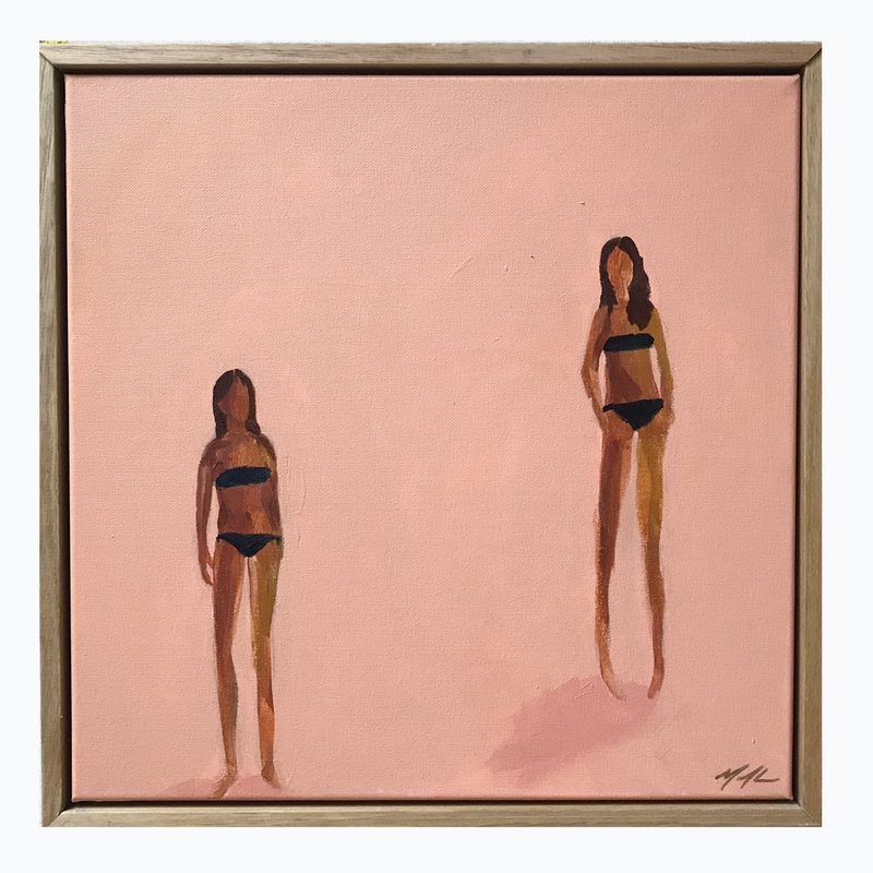 (CreativeWork) Sand Nymphs by Marnie McKnight. Acrylic Paint. Shop online at Bluethumb.